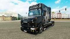 Скин Silver Dragon на тягач Scania T