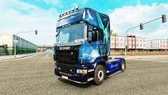Скин Blue Angel на тягач Scania