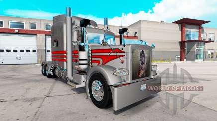 Скин Rocker на тягач Peterbilt 389 для American Truck Simulator