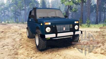 ВАЗ-21213 Нива для Spin Tires