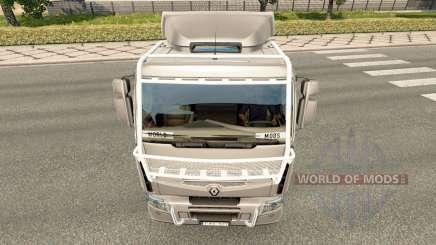 Лайтбар Rally Dakar на Renault для Euro Truck Simulator 2