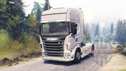Scania R730 2009 4x4 для Spin Tires
