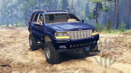 Jeep Grand Cherokee (WJ) для Spin Tires