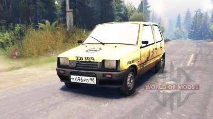 ВАЗ-1111 Ока Оказия для Spin Tires