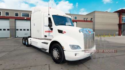 Скин Estafeta на тягач Peterbilt 579 для American Truck Simulator
