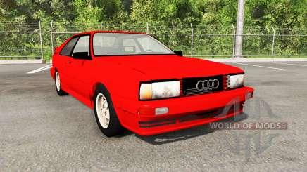 Audi Quattro (Typ 85) 1988 для BeamNG Drive