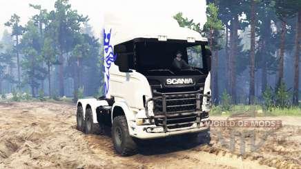 Scania R730 6x6 для Spin Tires