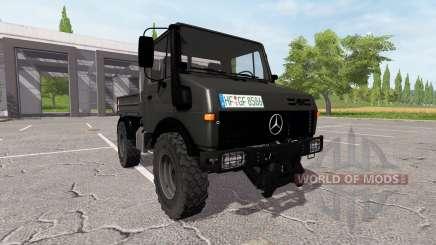 Mercedes-Benz Unimog U1600 v1.15 для Farming Simulator 2017