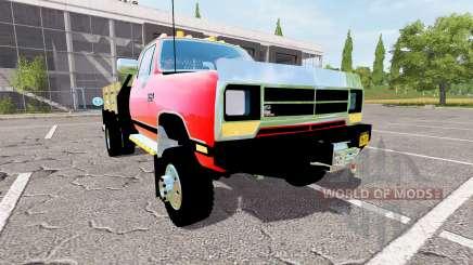 Dodge Power Ram flatbed для Farming Simulator 2017