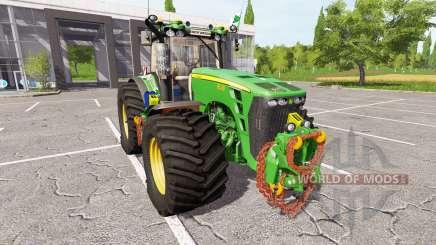 John Deere 8530 v2.3 для Farming Simulator 2017