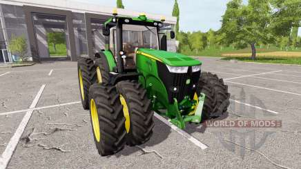 John Deere 7280R для Farming Simulator 2017