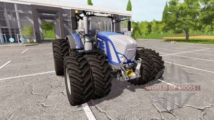 Fendt 936 Vario blue edition для Farming Simulator 2017