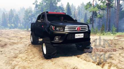 Toyota Hilux Double Cab 2016 для Spin Tires