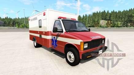 Gavril H-Series San Andreas Ambulance v0.1 для BeamNG Drive