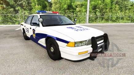 Gavril Grand Marshall Chinese Police для BeamNG Drive