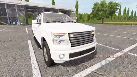 Lizard Pickup TT v1.3 для Farming Simulator 2017