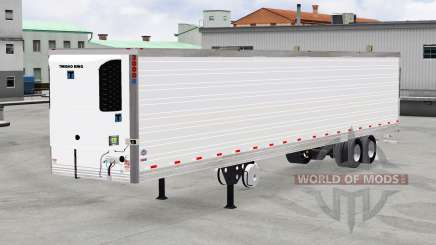 Рефрижераторный полуприцеп Thermo King для American Truck Simulator