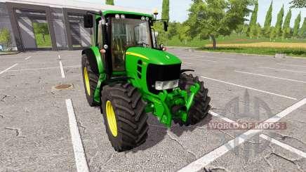 John Deere 7530 Premium v1.1.0.1 для Farming Simulator 2017