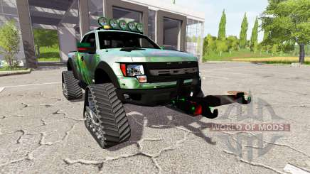 Ford F-150 SVT Raptor crawler для Farming Simulator 2017