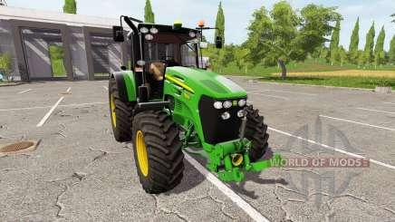 John Deere 7830 для Farming Simulator 2017
