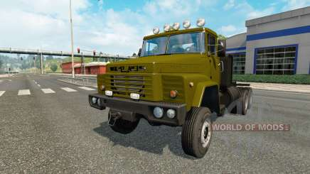 КрАЗ-260 v1.16 для Euro Truck Simulator 2