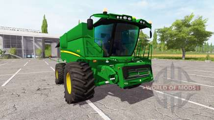 John Deere S690i v2.0 для Farming Simulator 2017