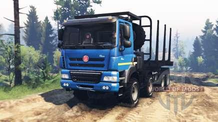 Tatra Phoenix T 158 8x8 v2.0 для Spin Tires