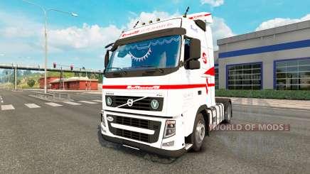 Volvo FH13 СовТрансАвто для Euro Truck Simulator 2