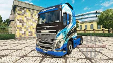 Скин R.Thurhagens на тягач Volvo для Euro Truck Simulator 2