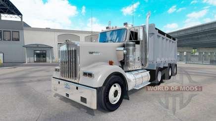 Kenworth W900 dump для American Truck Simulator