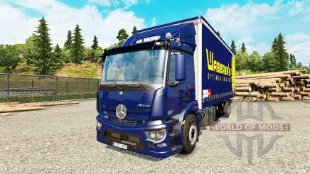 Mercedes-Benz Antos tandem для Euro Truck Simulator 2