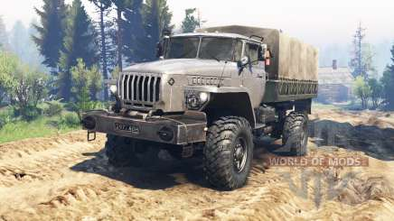 Урал-43206 v2.0 для Spin Tires