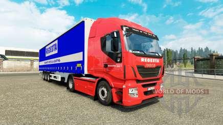 Скин Regesta на тягач Iveco для Euro Truck Simulator 2