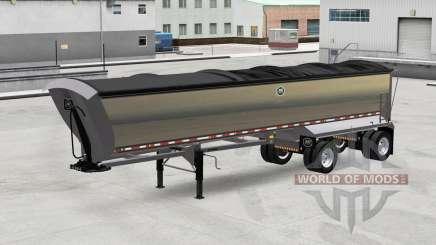 Полуприцеп-самосвал MAC для American Truck Simulator