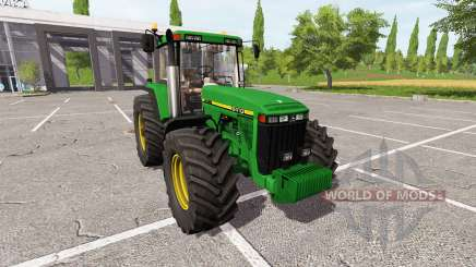 John Deere 8410 для Farming Simulator 2017