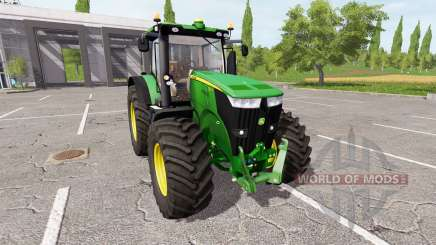 John Deere 7270R для Farming Simulator 2017