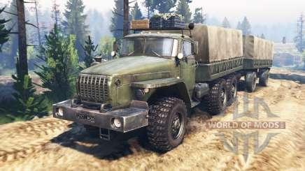 Урал-4320-31 v2.0 для Spin Tires