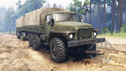 Урал-375Д для Spin Tires