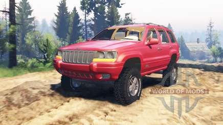 Jeep Grand Cherokee (WJ) v2.0 для Spin Tires