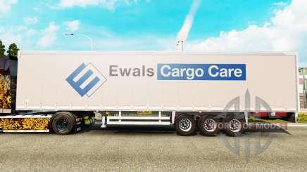 Шторный полуприцеп Wileton Ewals для Euro Truck Simulator 2