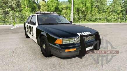 Gavril Grand Marshall San Andreas Police для BeamNG Drive