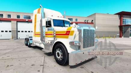 Скин Beacon на тягач Peterbilt 389 для American Truck Simulator