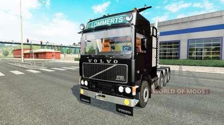 Volvo F10 8x4 PBA heavy для Euro Truck Simulator 2