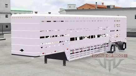 Полуприцеп-скотовоз для American Truck Simulator