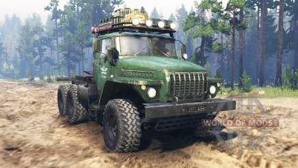 Урал-4320 тягач v2.0 для Spin Tires