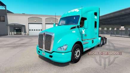 Скин TUM на тягач Kenworth T680 для American Truck Simulator