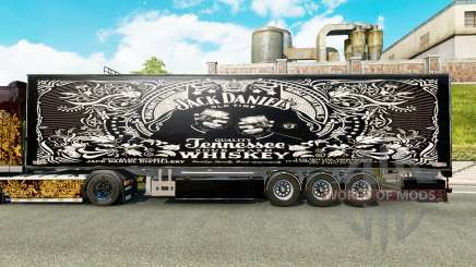 Полуприцеп Chereau Jack Daniels для Euro Truck Simulator 2