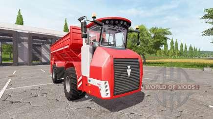 HOLMER Terra Variant 600 eco [pack] для Farming Simulator 2017