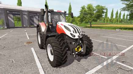 Steyr Terrus 6270 CVT ecotec v1.8 для Farming Simulator 2017