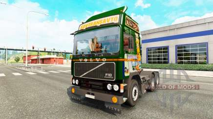 Volvo F10 Kinst для Euro Truck Simulator 2